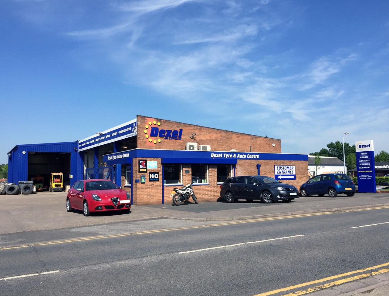 Lincoln Tritton Road Branch Dexel Tyre Auto Centre