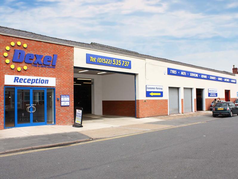 Lincoln City Centre Branch Dexel Tyre Auto Centre