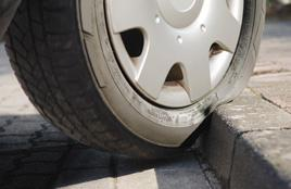 Cuts and tears on the tyre can be dangerous depending upon where they are situated  - if you find this damage contact your local Dexel Tyre & Auto Centre branch