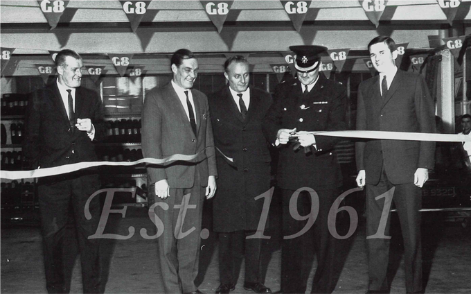 Staniforth Road Depot Opening 1966
